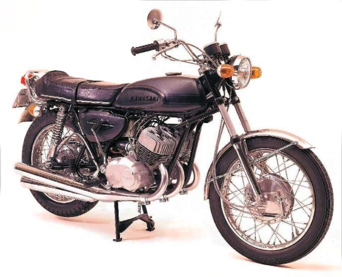تاریخچه کاواساکی . موتورسیکلت کاواساکی H1