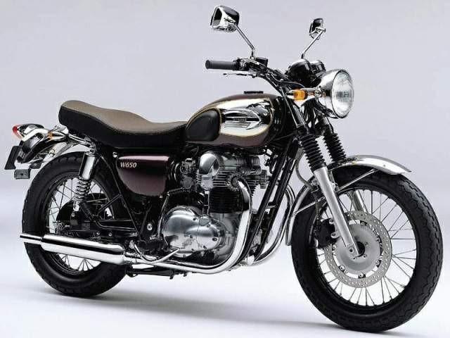 تاریخچه کاواساکی . موتورسیکلت W650