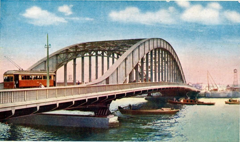 تاریخچه کاواساکی . پل ایتایباشی در توکیو، 1935