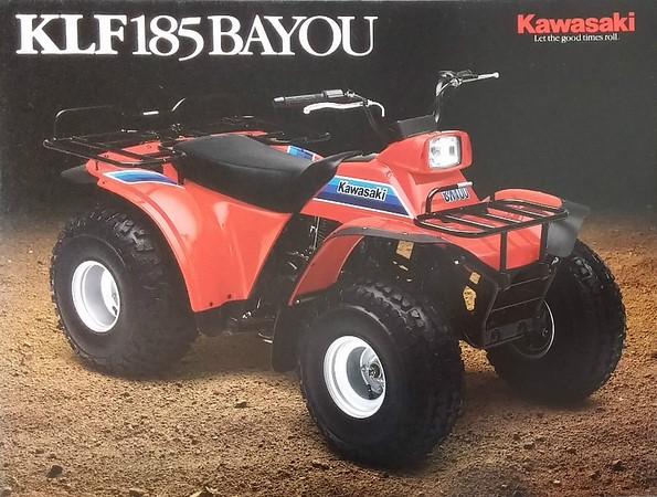 تاریخچه کاواساکی . ATV Bayou 185