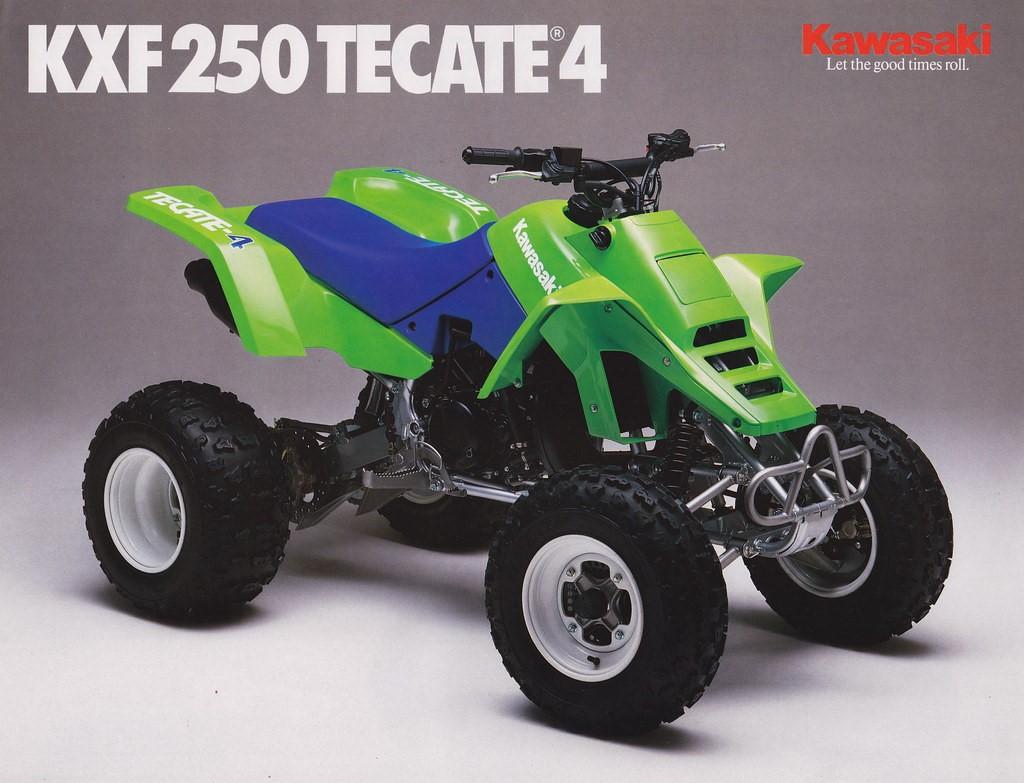 تاریخچه کاواساکی . ATV Tacate 4