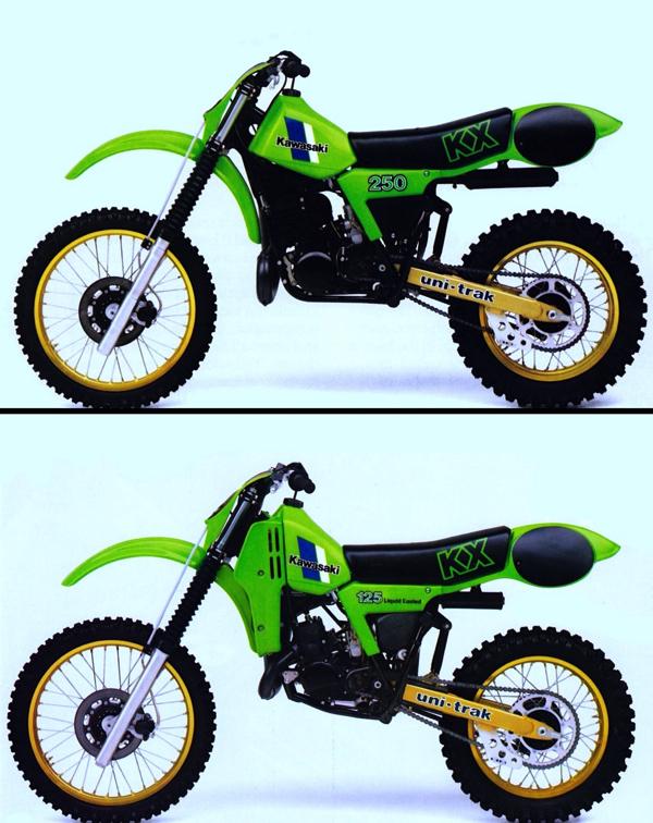 Kawaski KX125 KX250